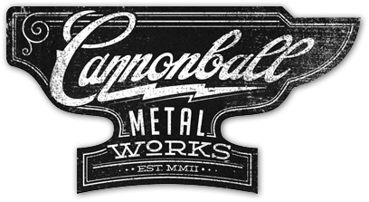 Cannonball Metal Works Logo